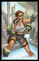 Lara Croft - Tomb Raider by wilson-go