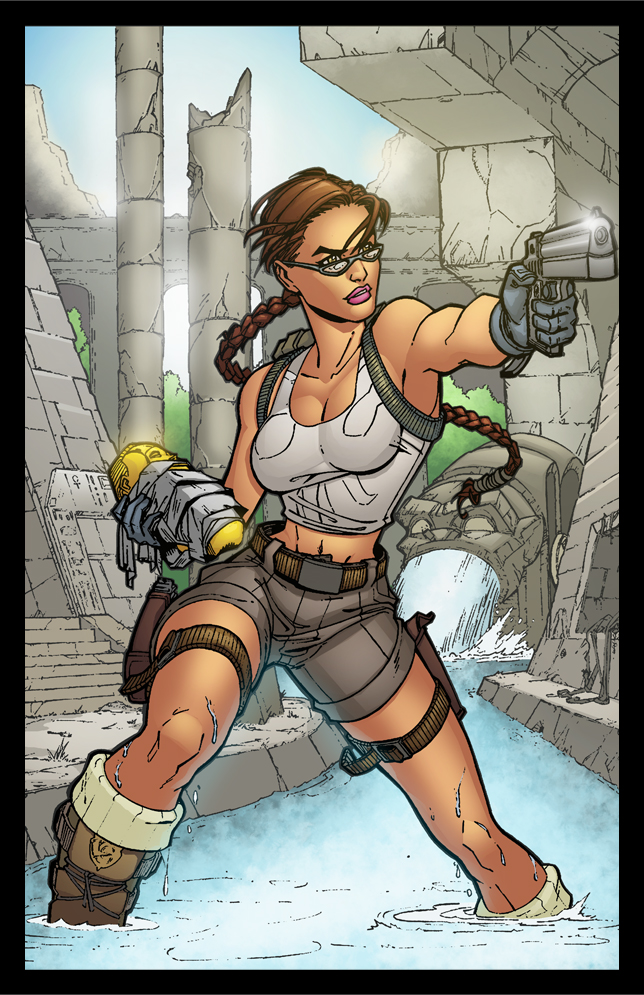 Lara Croft - Tomb Raider by wilson-go