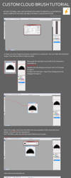 Custom Cloud Brush tutorial by ImmarArt