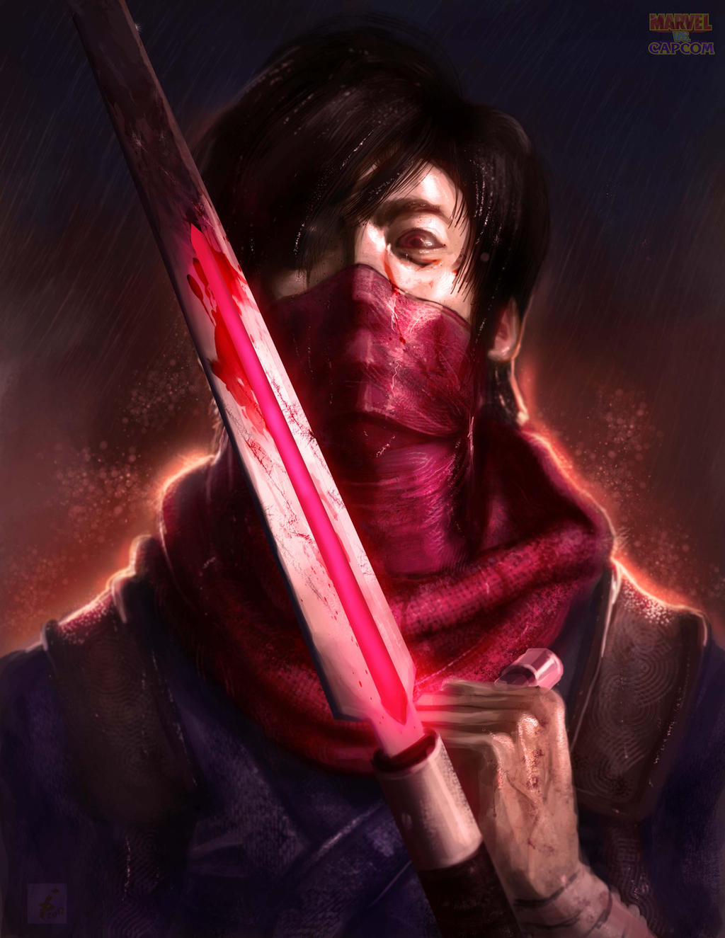 Strider Hiryu by ImmarArt
