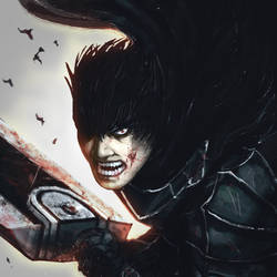 The Black swordsman vr 2 by ImmarArt