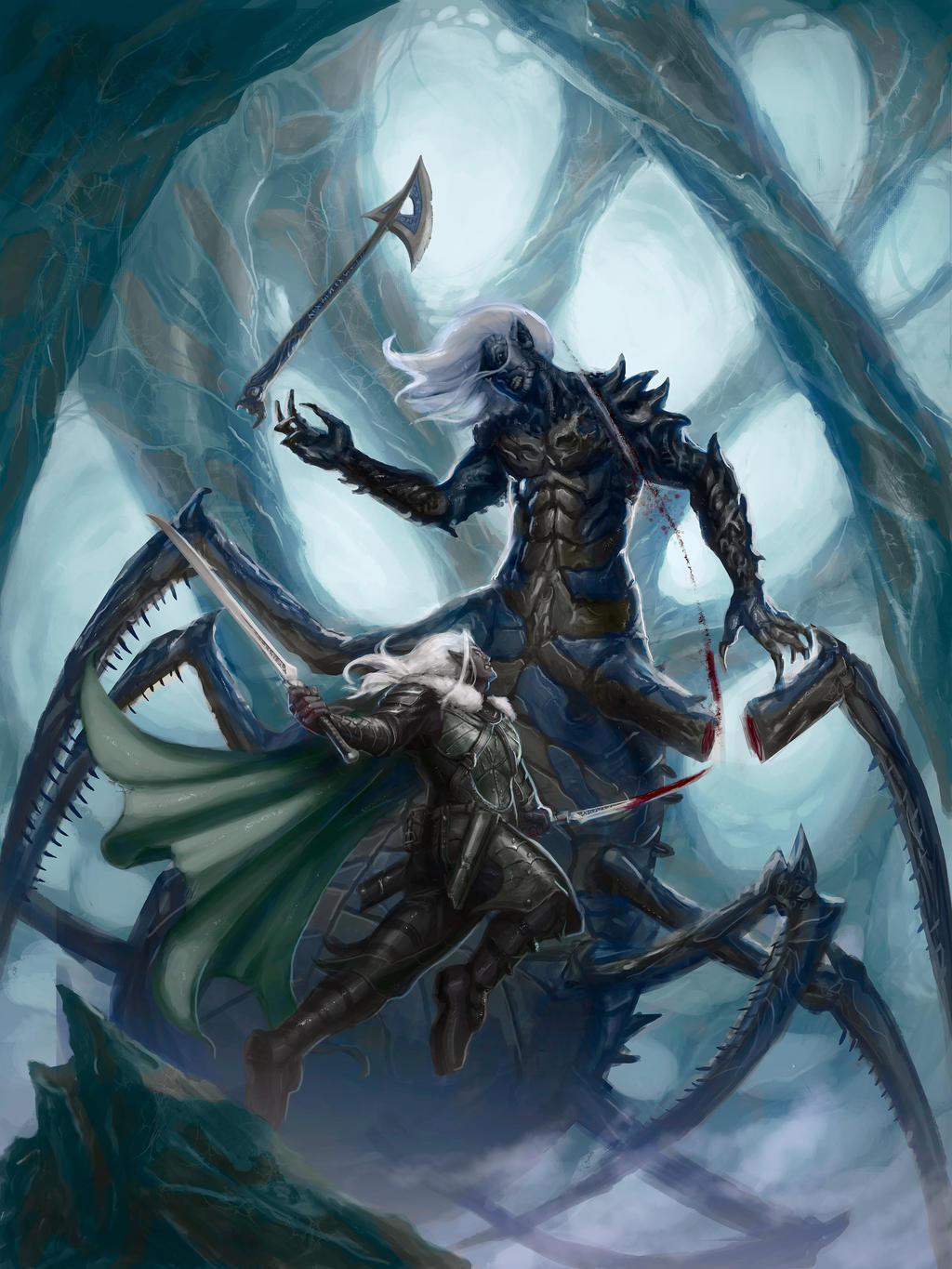 Drizzt by ImmarArt