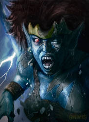 Gargoyles 90's cartoon-Demona