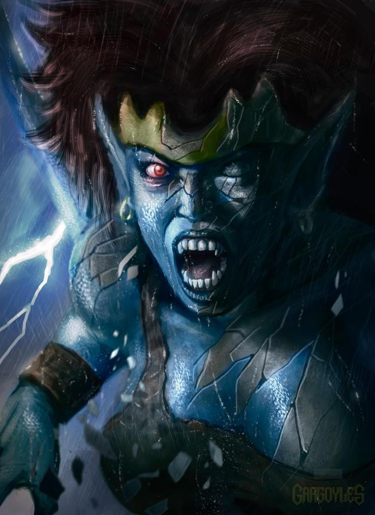 Gargoyles 90's cartoon-Demona by ImmarArt