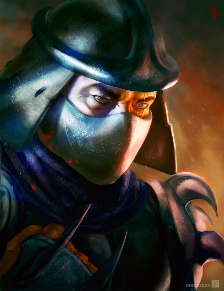 Shredder by ImmarArt