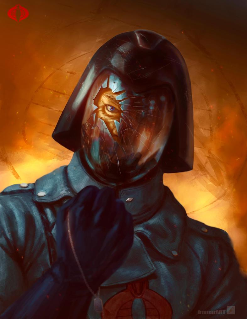 Cobra Commander by ImmarArt