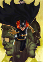 Batgirl by ImmarArt