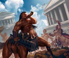 Centaurs-strength by ImmarArt