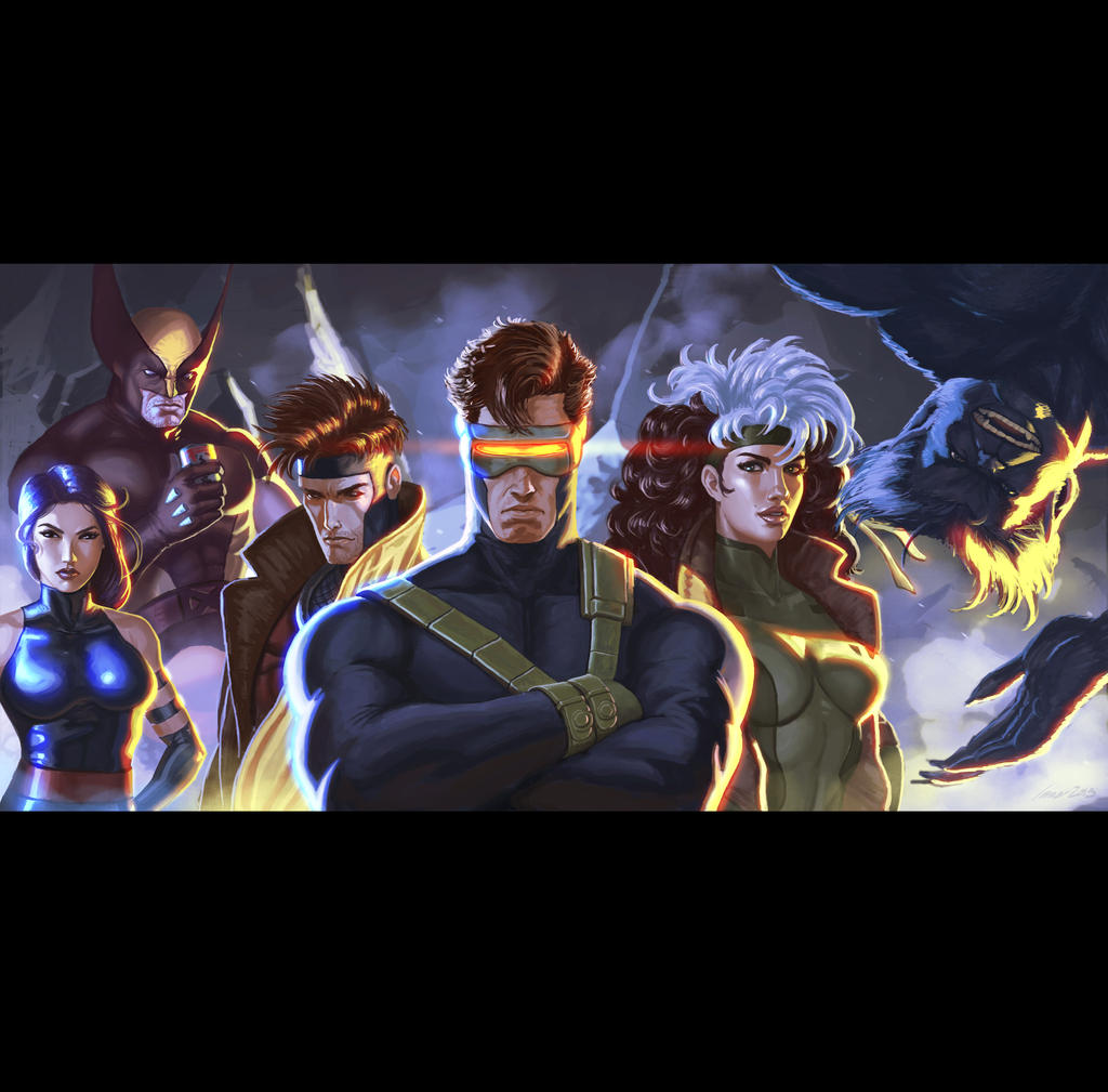 x men by immarart on deviantart