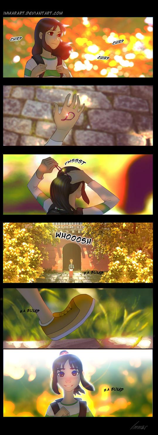 Spirited Away 2 mini comic by ImmarArt