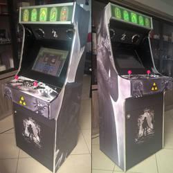 Zelda Arcade cabinet by ImmarArt