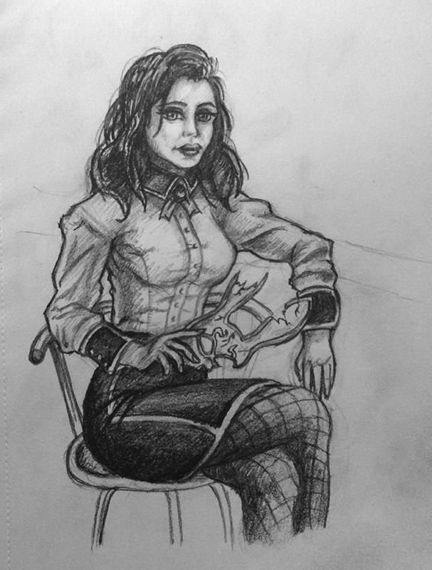 Elizabeth - Bioshock Infinite (Burial at Sea) by shezzor