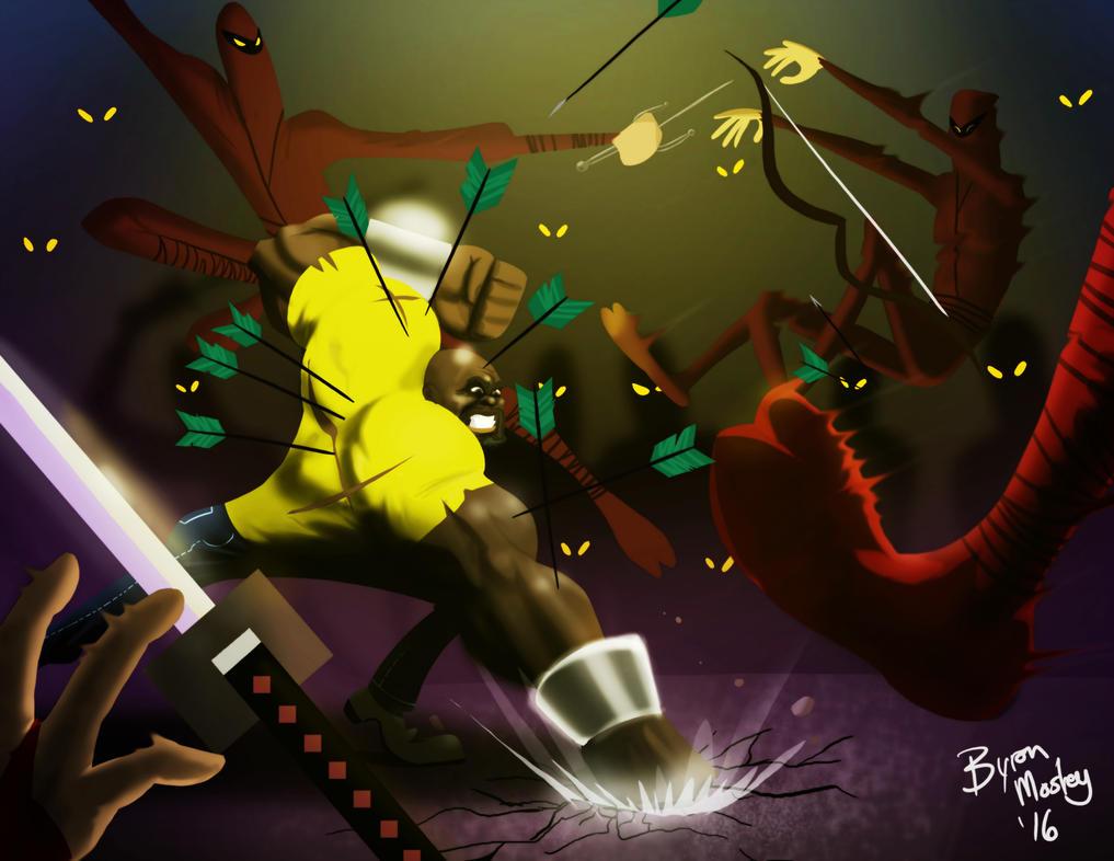 The Night of a MillionBillion Ninjas by bmosley45
