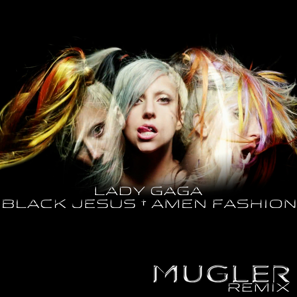 Black Jesus Amen Fashion 2 by CdCoversCreations