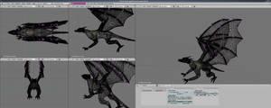 Dragon Wireframe