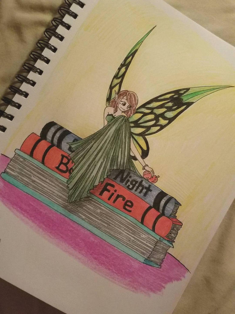The Fairy of Books by rosey89107