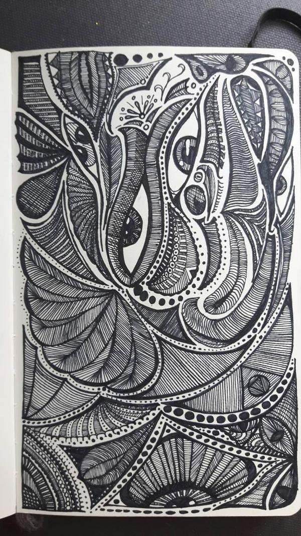 Sketchbook doodle 26 by PhoenixShaman