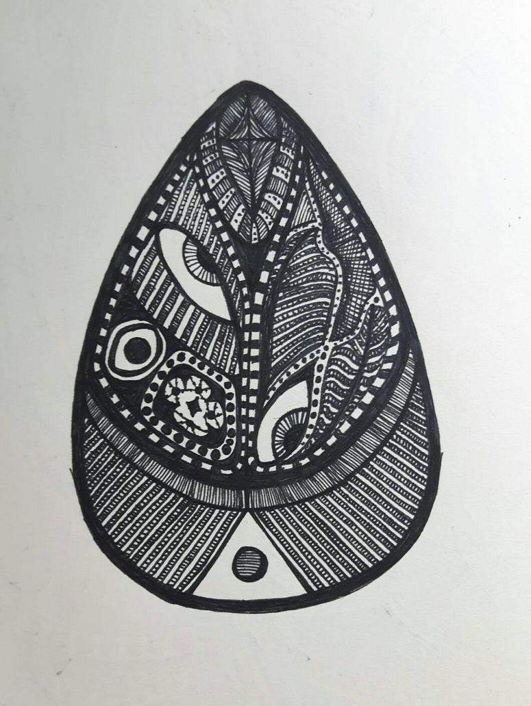Doodle Egg by PhoenixShaman