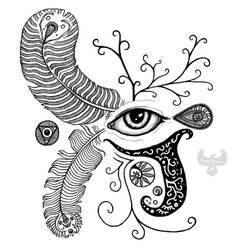 Eye am doodling by PhoenixShaman