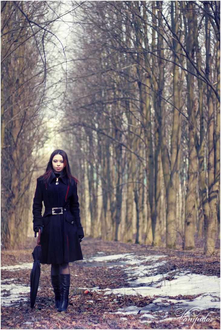 Spring Girl 3 by VAMPIdor