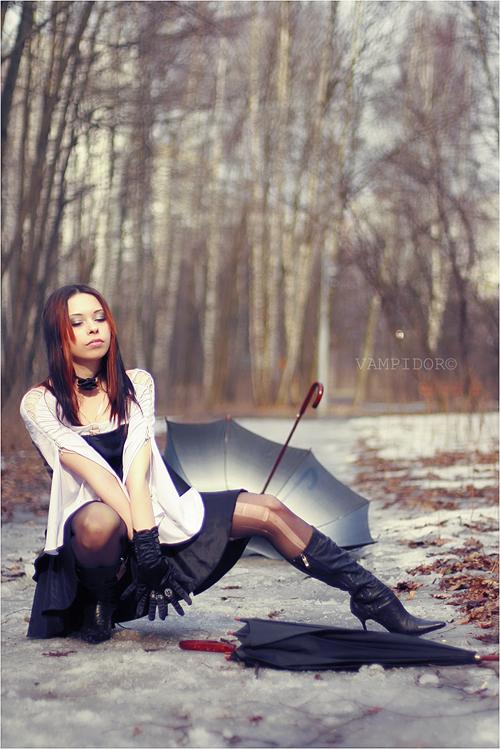 Spring Girl 8 by VAMPIdor