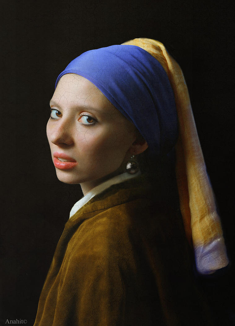 Girl with a Pearl Earring by VAMPIdor