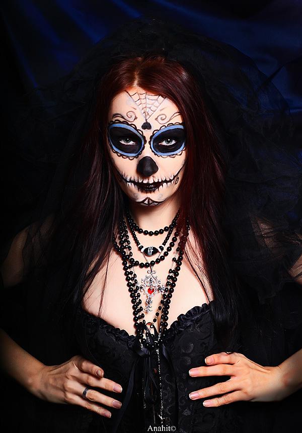 Santisima Muerte by VAMPIdor