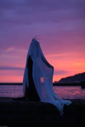 coucher de soleil cramoisi
