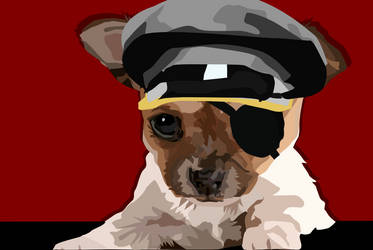 Dictator Dog by TheShadowIllusionist