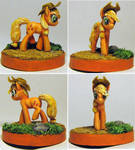 Applejack sculpture