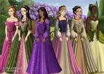 More Tudor Disney Princesses