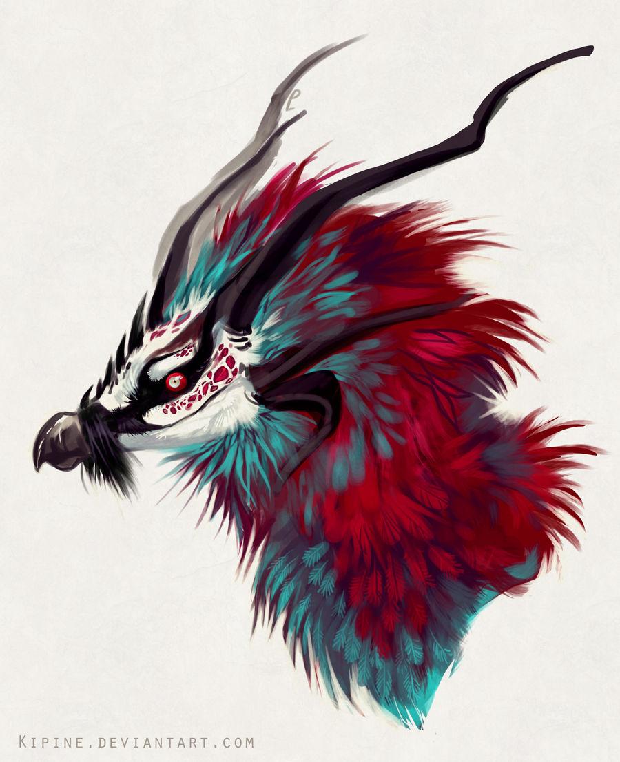 Bearded vulture dragon