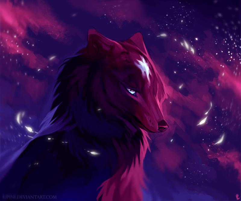 Nightstar by kipine on deviantart - Anime wolf wallpaper ...