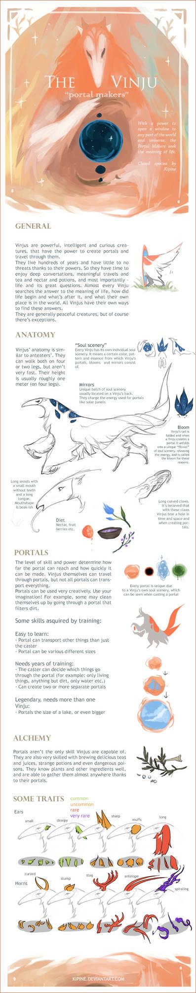 The Vinju - portal makers (closed species)