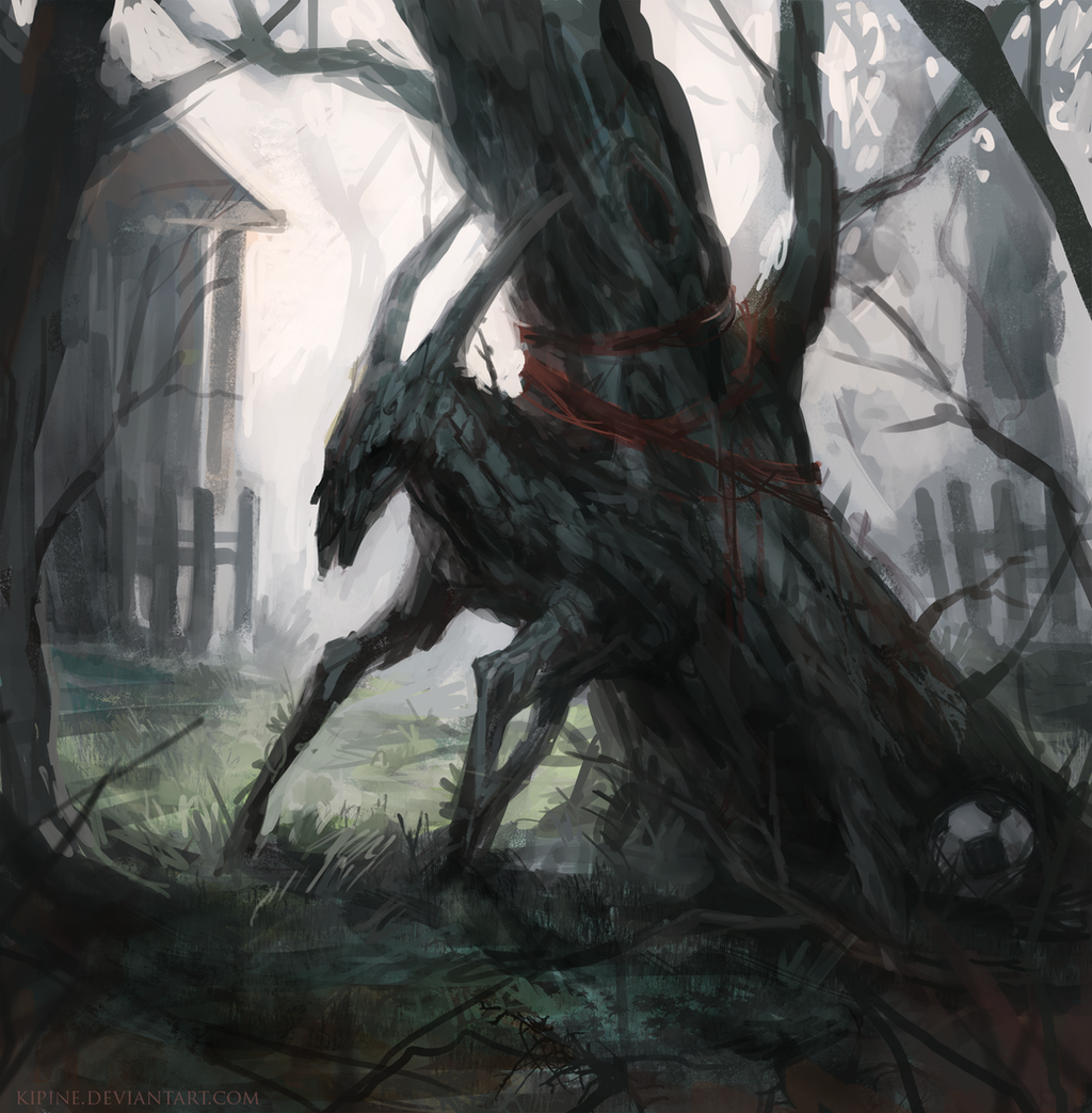 The Horned Tree by Kipine