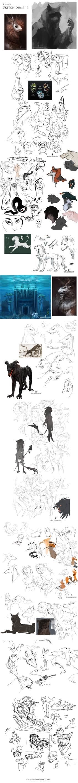 Sketchdump II by Kipine