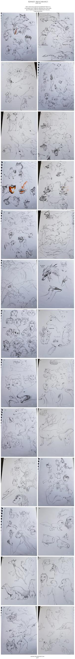 Sketchbook I (part 1/2) by Kipine