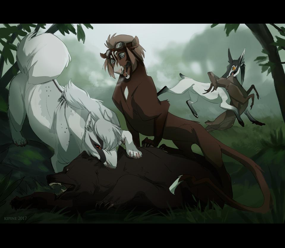 Bear Hunt by Kipine