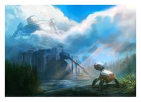 Strange Lands by Kipine