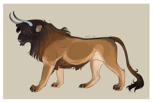 Bull Lion