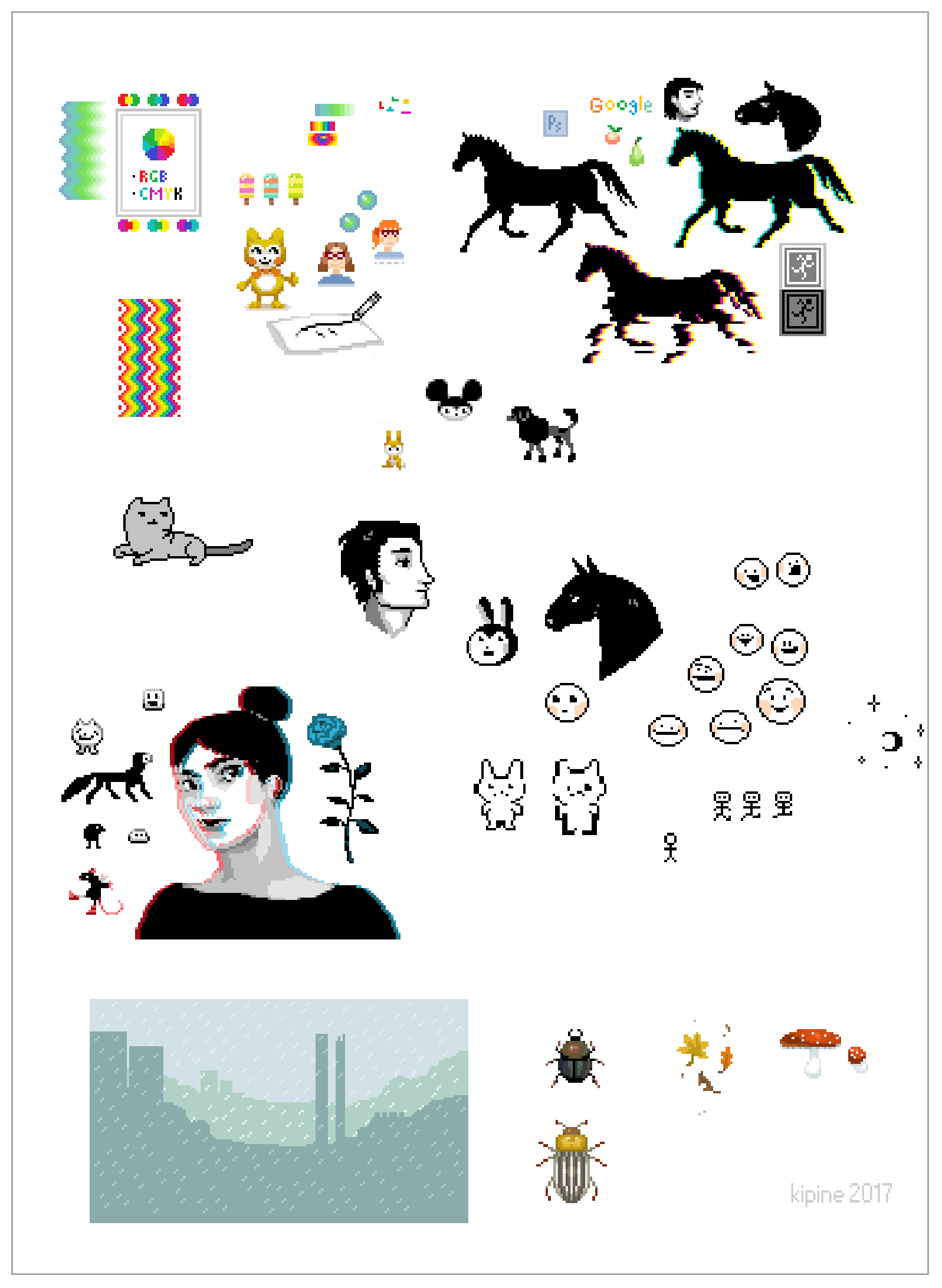 Pixels by Kipine