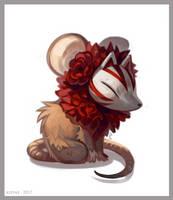 Kinrui the mouse by Kipine