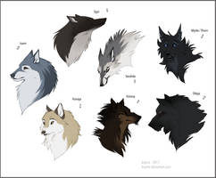 Wolf Characters
