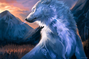 Fantasy Wolf Free To Use By Kipine