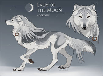 Lady of the Moon - Adoptable (CLOSED)