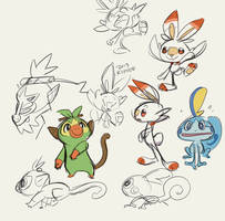 Starters! by Kipine