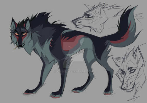 Wolf design II Auction [OPEN]