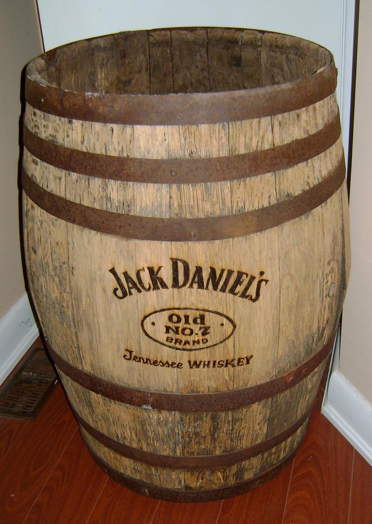 Jack Daniels Replica Barrel By Champstiles On Deviantart