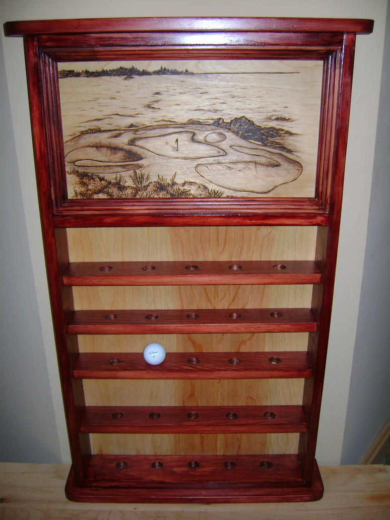 Golf Ball Display Cabinet By Champstiles ...
