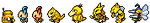 Yellow Pokemon Sprite Divider by Sweet-Fizz